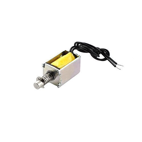 sourcingmap® DC 4.5V 3mm 50g offener Rahmen ziehbar Elektromagnet Spule Magnetspule Aktor de