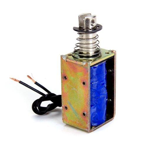 SODIAL (R) DC 24V Pull Type Open Frame Solenoid-Elektromagneten