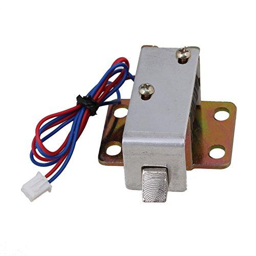 BQLZR Schranktür Elektroschloss Montage Solenoid DC 12V 0.6A TFS-A12 Quadrat Kegel Latch