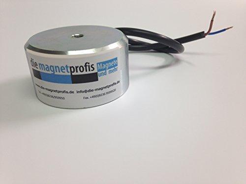 Elektromagnet Ø 50×42.8 mm M5 Haftkraft 30.4 kg Lift Aufzug Magnet Heben Soleniod Befestigung Elektromotor Permanentmagnet