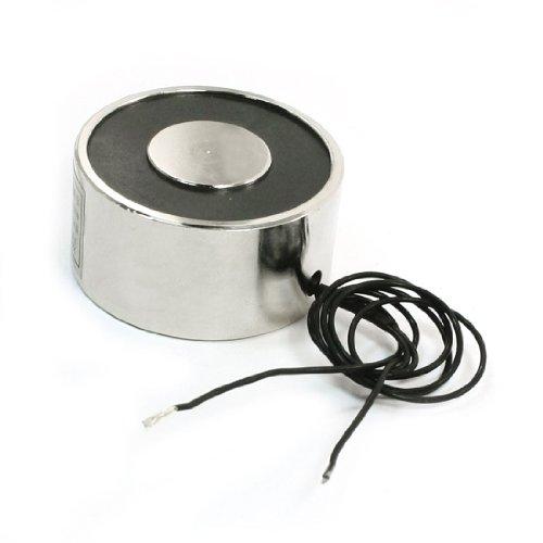 sourcingmap® Lasthebemagnet / Elektromagnet, 25kg, 40mm, 24V Gleichspannung