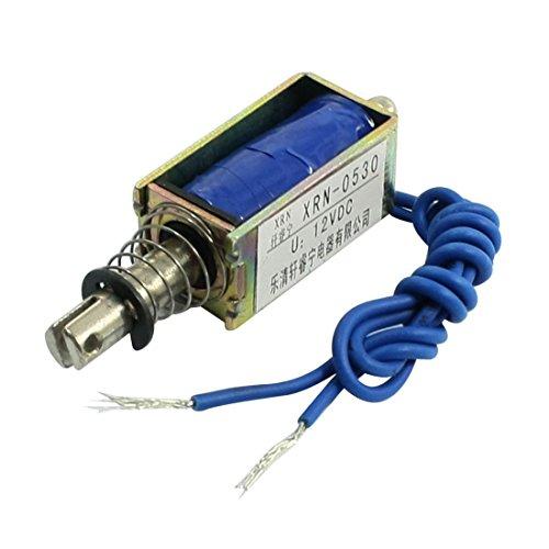 sourcingmap® DC 12V 5N Kraft 10mm Takt Push Typ electromagnet Spule Magnetspule