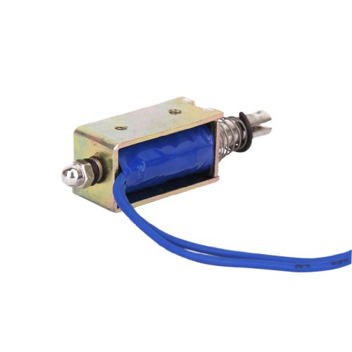 Gazechimp Magnet Solenoid Push Pull Typ Open Frame Elektromagneten ZYE1 0530Z DC 12V