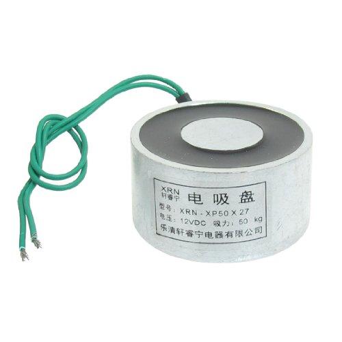 gesaugt Elektro-Lasthebemagnet Elektromagnet 12VDC 50Kg 50kg 50x 27mm