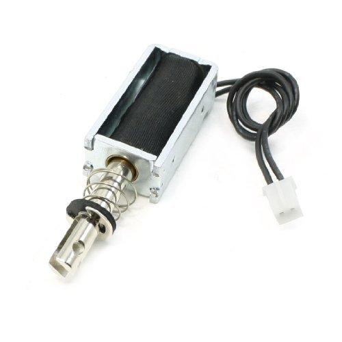 sourcingmap® DC 5V 1.1A Pu-Leder, Typ 5 mm Hub 50GF Force Magnetventil Electromagnet