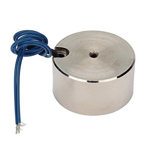 WEONE Ersatz Leistungsstarke Metall 10W 50kg Hubmagneten Halten Elektromagnet 12V DC 500N