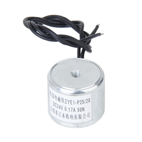 DC 24V 0.17A 50N HalteElektromagnet Aufzug Magnet ZYE1-P25/20