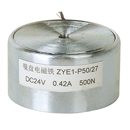 500N/50Kg Elektrohubmagnet Solenoid-Elektromagneten Aufzug Halte 50mm