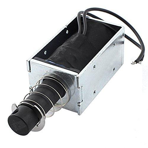 DealMux DC 12V 1.5A 500 g / 15mm Pull Push-Typ Open Frame Solenoid-Elektromagnet