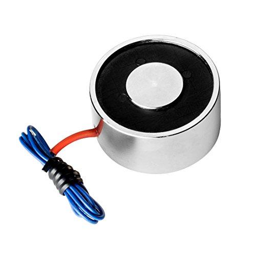 sourcingmap® 12V DC 250N 0.29LB/130g Elektrischer Hebemagnet Elektromagnet Solenoid Lift Hold