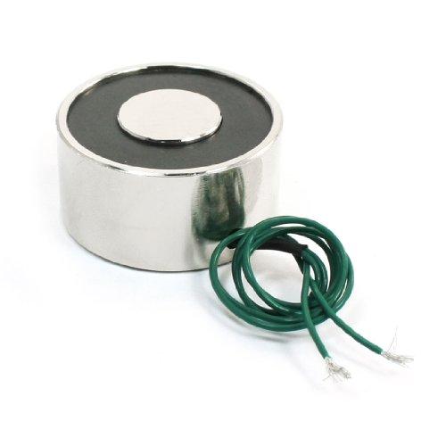 12V Greifzange 25kg Elektro-Lasthebemagnet Elektromagnet Magnetspule 40mm
