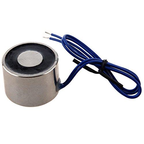Elektromagnet – SODIAL(R)10Kg 22lbs 12V 5W Hubmagneten, Elektromagnet Aufzug Halten